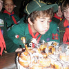 Jon Jon blowing out his candles.....happy 9th bday!! :D