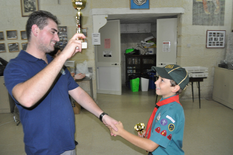 BEST CAMPER OF SUMMER CAMP 2010!!! WELL DONE GEORGE!!