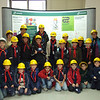 Group Photo inside the building before making our way out to tour the power station.... Photo: Enemalta
