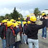 The engineer showing the cubs the different areas around the power station....after it stopped raining :P    Photo: Enemalta