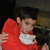 Matthias turning into Santa!