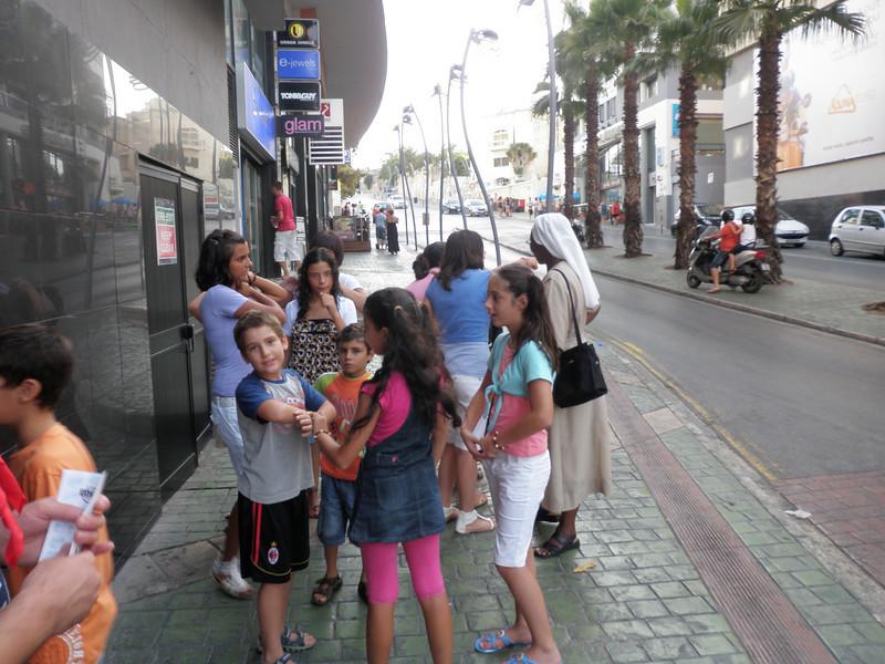 The children from Ejjew Ghandi