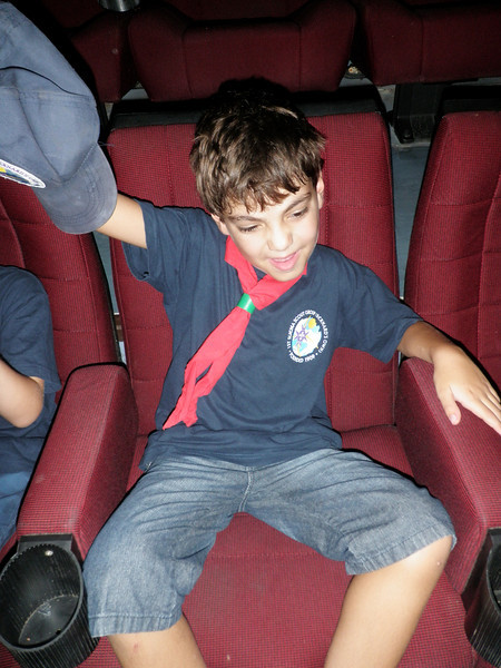 Paolo singing along to one of the songs