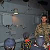 explaining how the warship can be refuelled whilst still moving