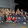 Group Photo - Sliema Cubs with FGS Köln Crew on board the German Warship - 1st Dec 2010