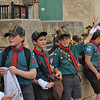 Outside Castille waiting for the rest of the Cubs from Malta to arrive..