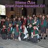Group Photo 2 - Pjazza San Gorg - Cubs greet Pope Benedict XVI - Saturday 17th April 2010