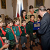 Photo: DOI<br /> <br /> Prime Minister looking at the gift