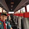 on the bus just leaving Sliema