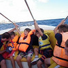 VIDEO: Cubs on the speedboat...yes we got veryyyy wet!! well..it was force6 :s