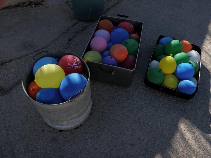 more balloons...