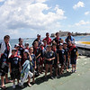 Group Photo before heading to Sliema on the speedboat