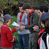 Tabaqui handing Miguel his Runner-Up Best Cub of the Year 2010 certificate
