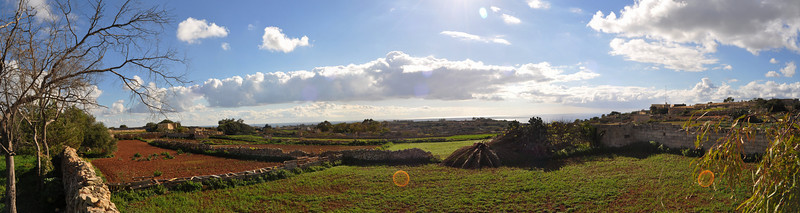 Panoramic - our morning view :)