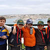Cubs at Upper Barrakka Gardens before going to our next activity