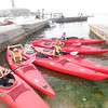 SUCCESS!!! The 1st time the Cubs used our NEW KAYAKS :)
