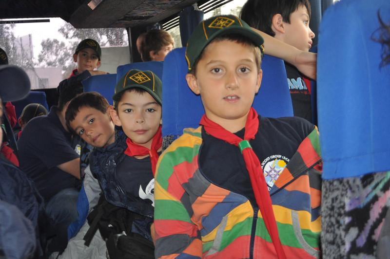 On the bus inside Wasteserv