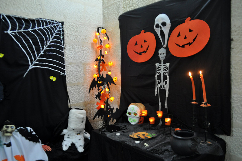 our halloween corner by Mrs Gauci! Thanks!!!