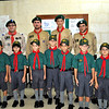 The Newly Invested Cubs with the Leaders present :D Thurs 22nd Sept 2011