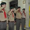 Seb salutes his leaders