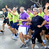 The President running in Floriana