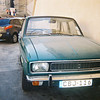 Photo taken from collection of Cub Damien - An Old car parked in the Pjazza of Cittadella which Damien seemed to have liked