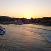 Photo taken from collection of Cub Ben - A great sunset photo just as we leaving the Mgarr Port
