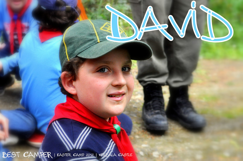 WELL DONE DAVID!!