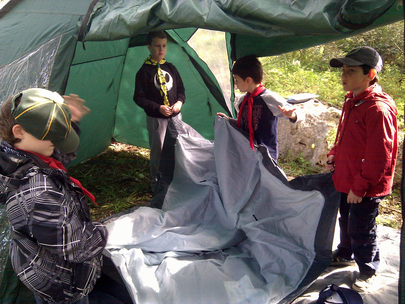 Kala Six continue to pitch their own tent