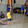 Steve couldn't believe his Six won camp + this is his very 1st Cub camp!!