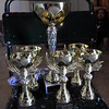 Trophies set for the winners of camp!