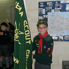 Mowgli all set with the Pack Flag for Investiture