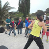 VIDEO: Time for ZUMBA..outside!!