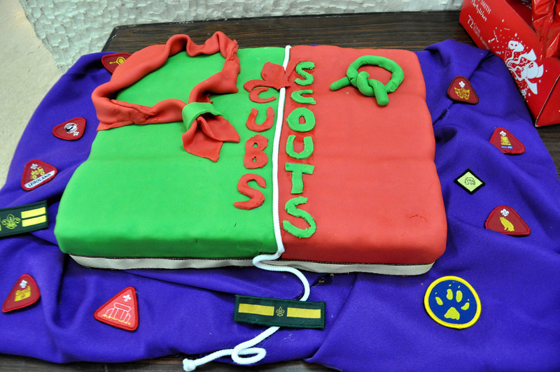 Crossing of the Line Cake! :) hmmm