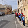 Making our way to the apiary in Safi