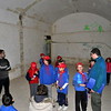 Cubs inside a relatively new part of the underground shelter