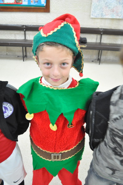 Little Elf! Nice costume Bep!