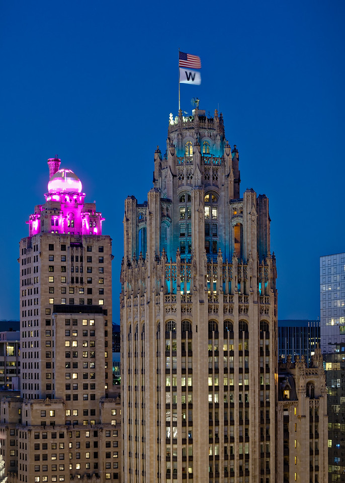 Trib Tower & W Flag - John O'Neill (1 of 1)