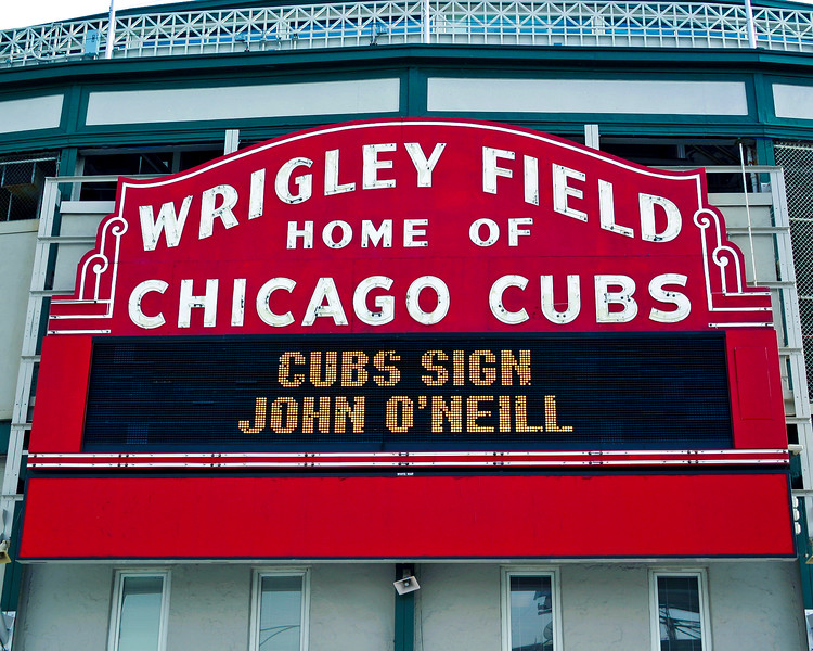 Cubs Sign John O'Neill - 4 15 LR Update