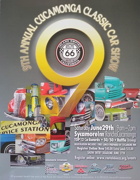 9th Annual Cucamonga Service Station Car Show