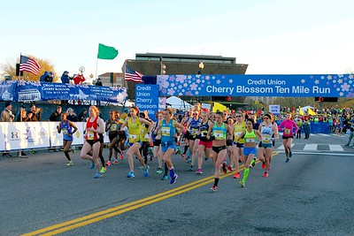 Women's Advance Start 2017 Credit Union Cherry Blossom Ten Mile Run