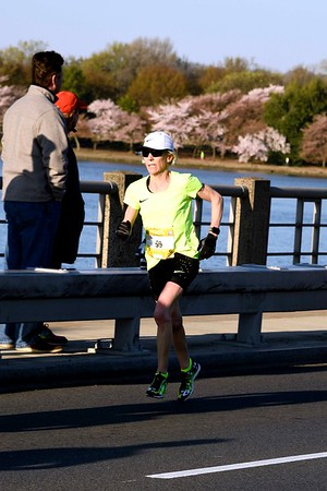 Joan Samuelson at the 2017 Credit Union Cherry Blossom Ten Mile Run