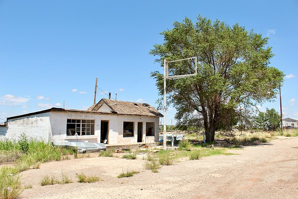 Abandoned post office and store (2020)