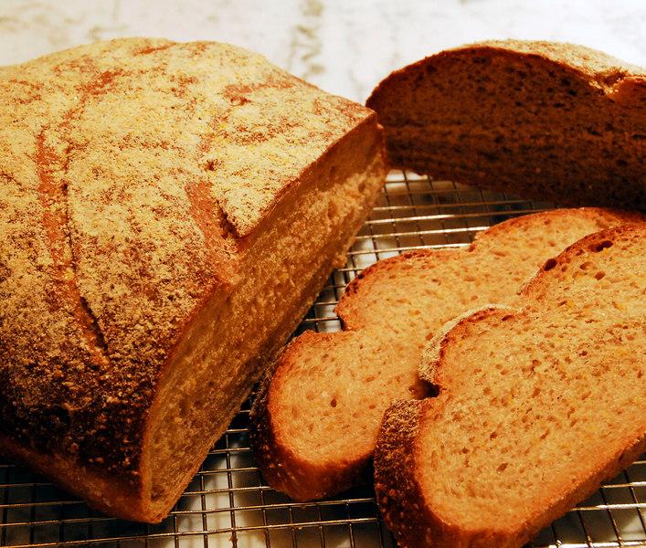 Anadama bread, Peter Reinhart book, Bread Baker's Apprentice