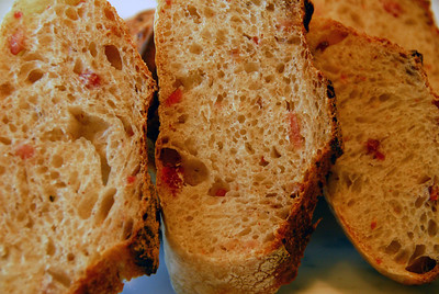 Auvergne Rye Baguette with Bacon