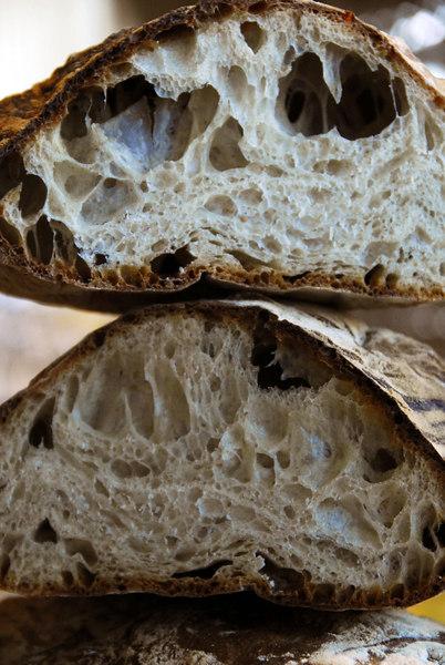 Craig Ponsford Ciabatta, from Maggie Glezer book, Artisan Baking Across America