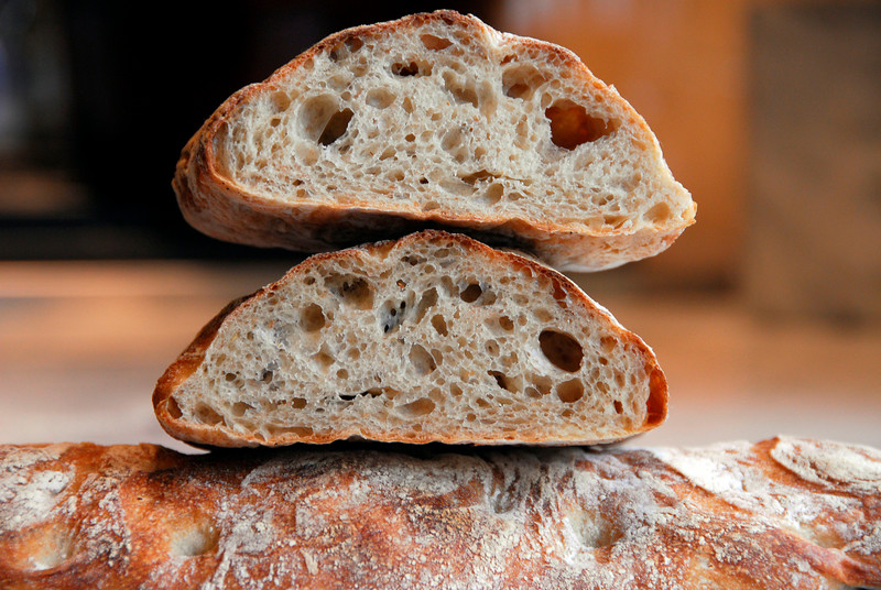 Bill's sourdough ciabatta recipe!