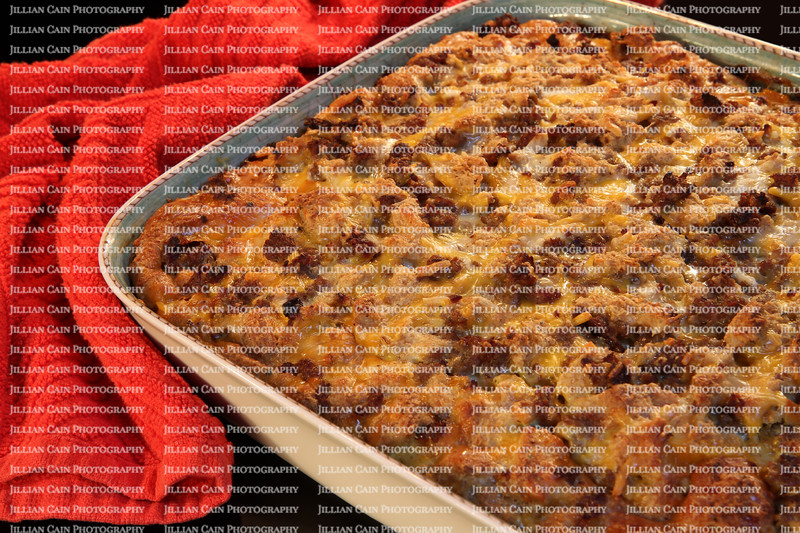 Right out of the oven breakfast casserole