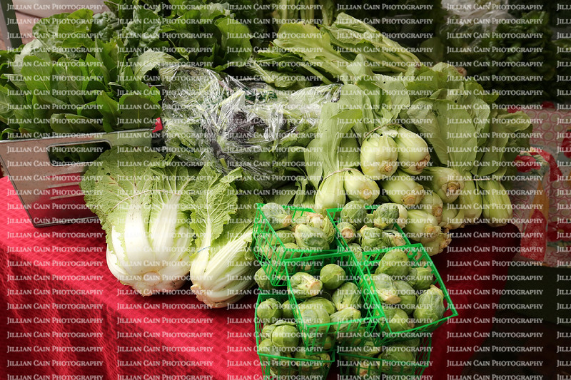 Farm fresh vegetables for sale at the Fatmer's Market in Mount Dora, Florida, USA.