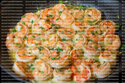 shrimp scampi sautéed in butter and garlic